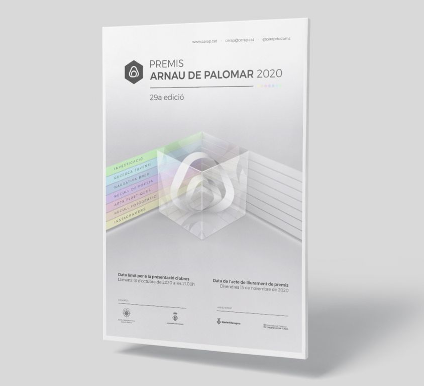 Brand Concept Premis Arnau de Palomar 2020
